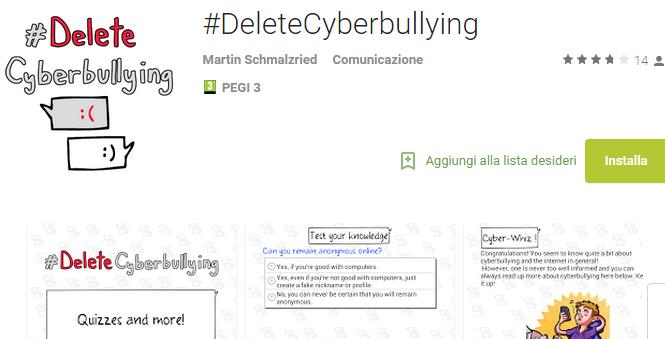 app cyberbullismo