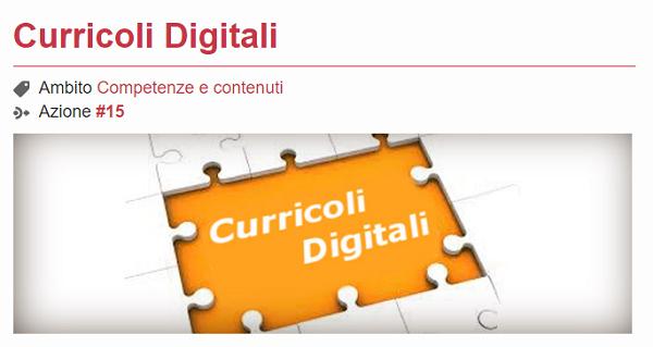 curricoli digitali